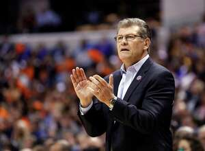 Geno Auriemma will have his USA team at the Webster Bank Arena on July 29.