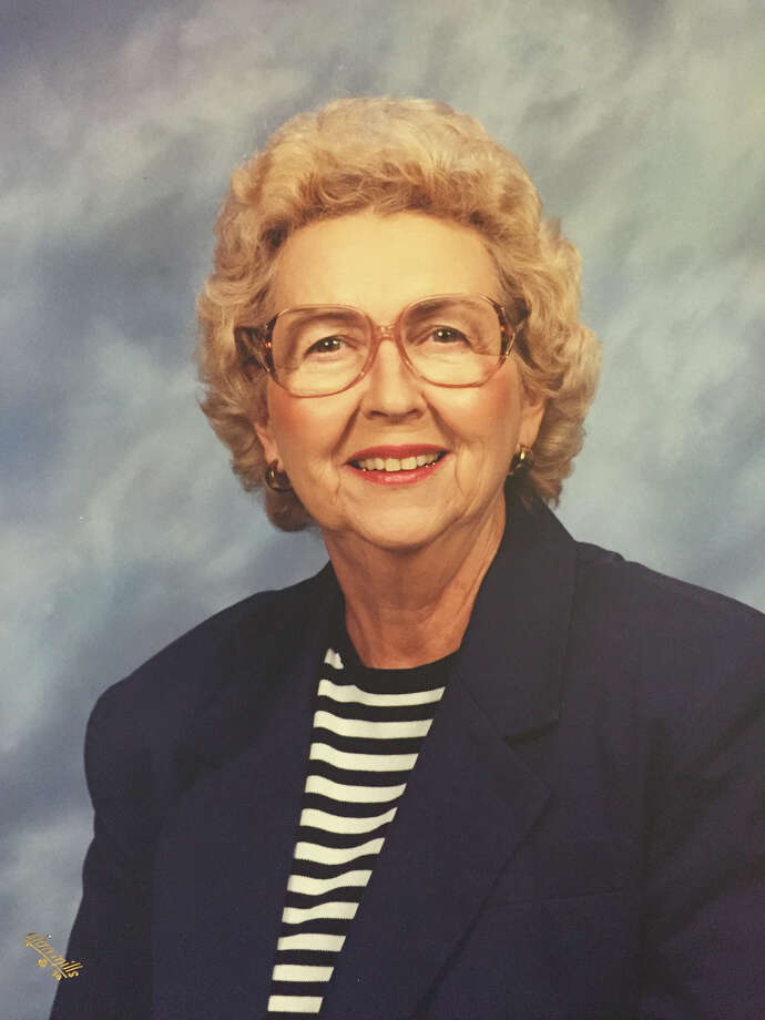 Helen Mansfield Smith, who had a keen sense of humor, was an active volunteer. Photo: Courtesy /
