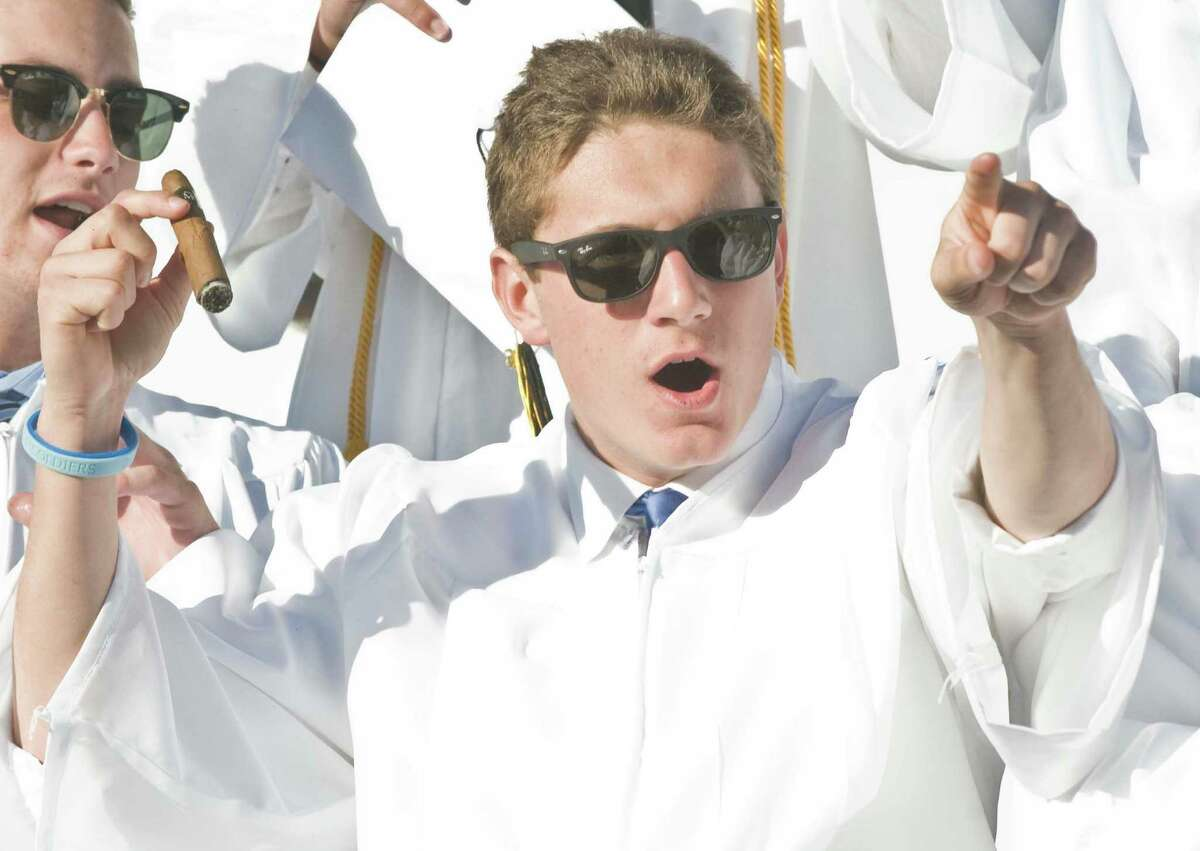 Joel Barlow High School graduation ceremony at the O'Neill Center on Western Connecticut State University's westside campus. Thursday, June 9, 2016