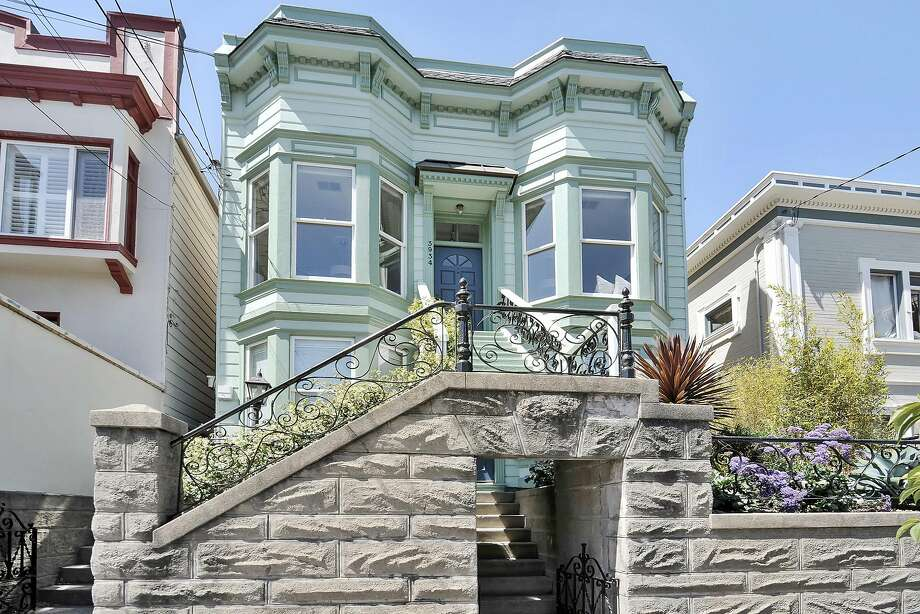 3934 Cesar Chavez St. in Noe Valley is an updated condo set within an Edwardian building. Photo: Open Homes Photography