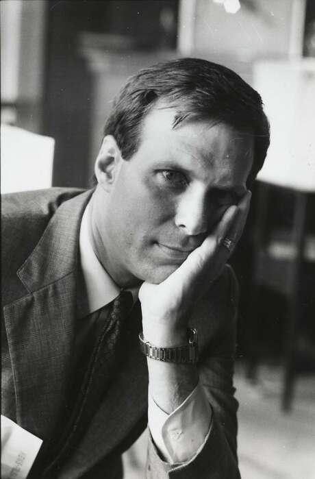 David Gockley, director of Houston Grand Opera, in 1986. Photo: Ben DeSoto, Houston Chronicle