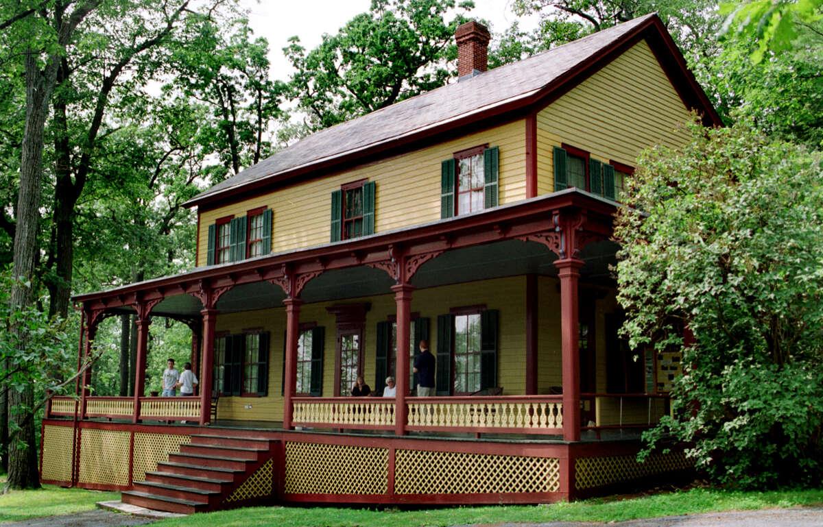 The Grant Cottage State Historic Site, 1000 Mount McGregor Road, Wilton.