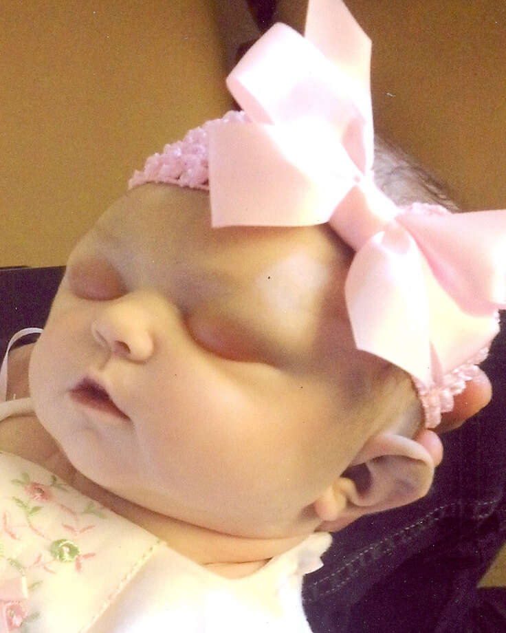 Brinley Rose Galerie died on June 3 after fighting for her life for nine hours and 51 minutes in the neo-natal unit of Albany Medical Center Hospital. The baby was delivered by emergency C-section after her pregnant mother, Brittany Amber Austin, was involved in a car crash on Route 146 in Halfmoon. (Photo courtesy of Galerie family)
