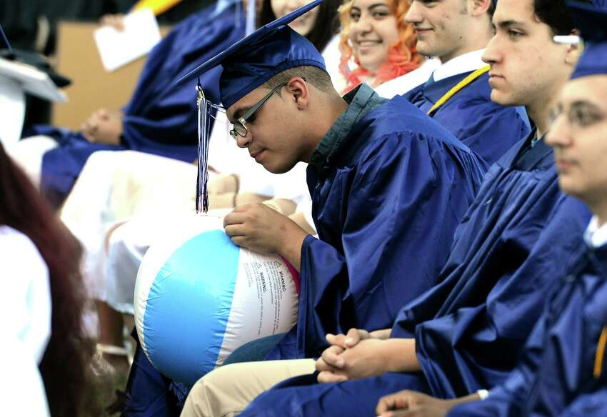 Ansonia High School's Class of 2016 Commencement Exercises at Nolan Field in Ansonia, Conn., on Thursday June 09, 2016.