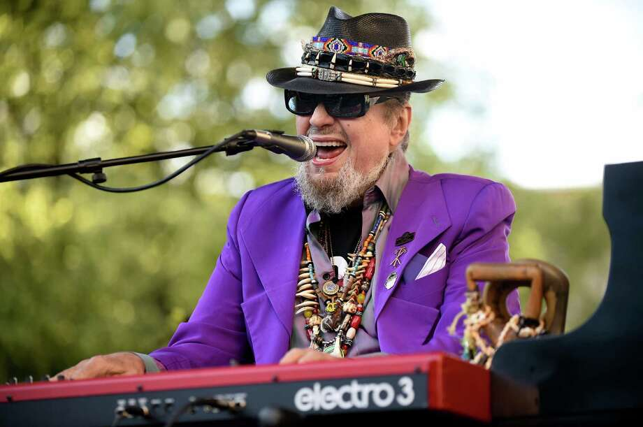 Dr. John performs with The Nite Trippers for the first Alive at Five concert on Thursday, June 9, 2016, at Tricentennial Park in Albany, N.Y. (Cindy Schultz / Times Union) Photo: Cindy Schultz / Albany Times Union