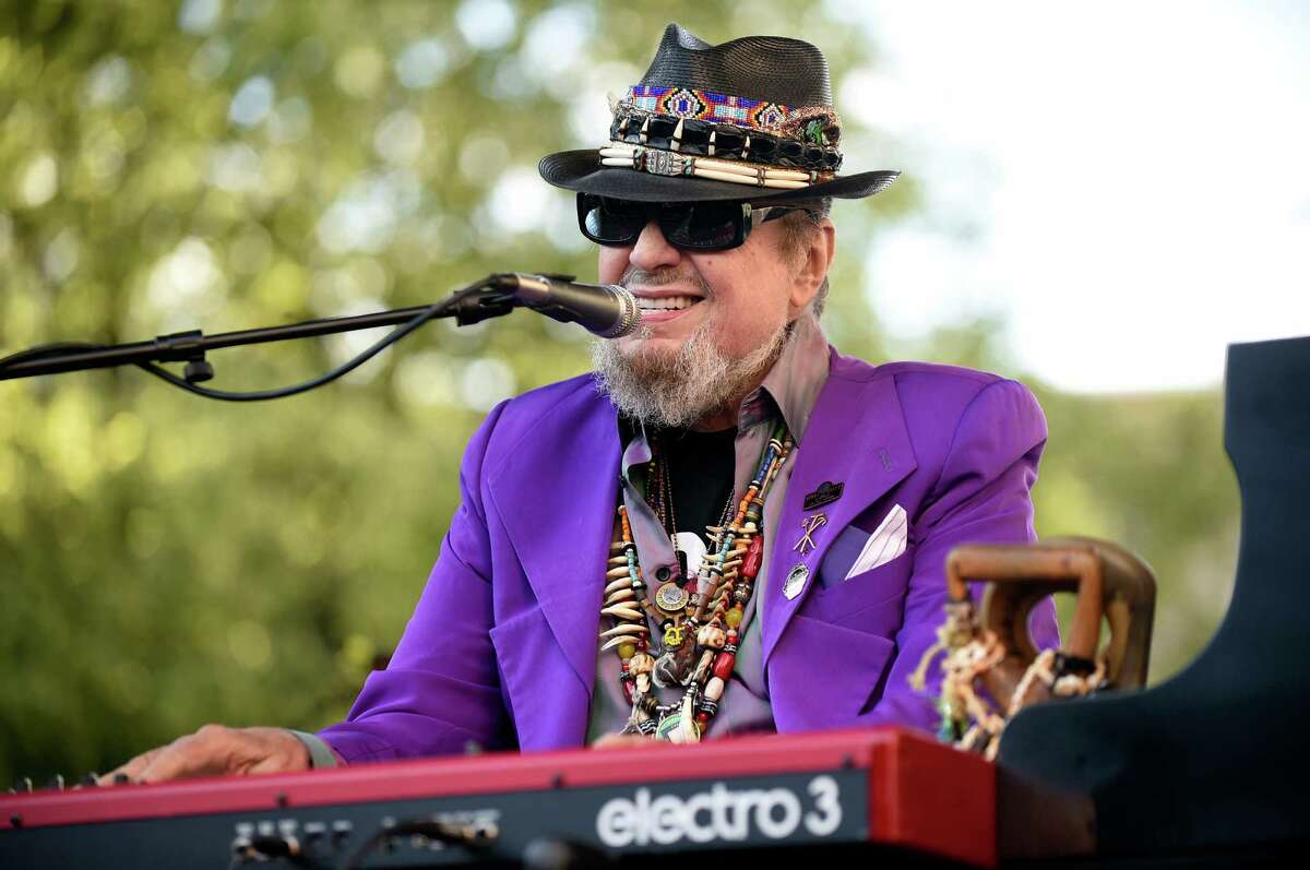 Dr. John performs with The Nite Trippers for the first Alive at Five concert on Thursday, June 9, 2016, at Tricentennial Park in Albany, N.Y. (Cindy Schultz / Times Union)