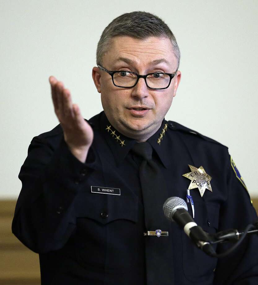 Sean Whent is out as Oakland police chief, a city official said. Photo: Ben Margot, Associated Press