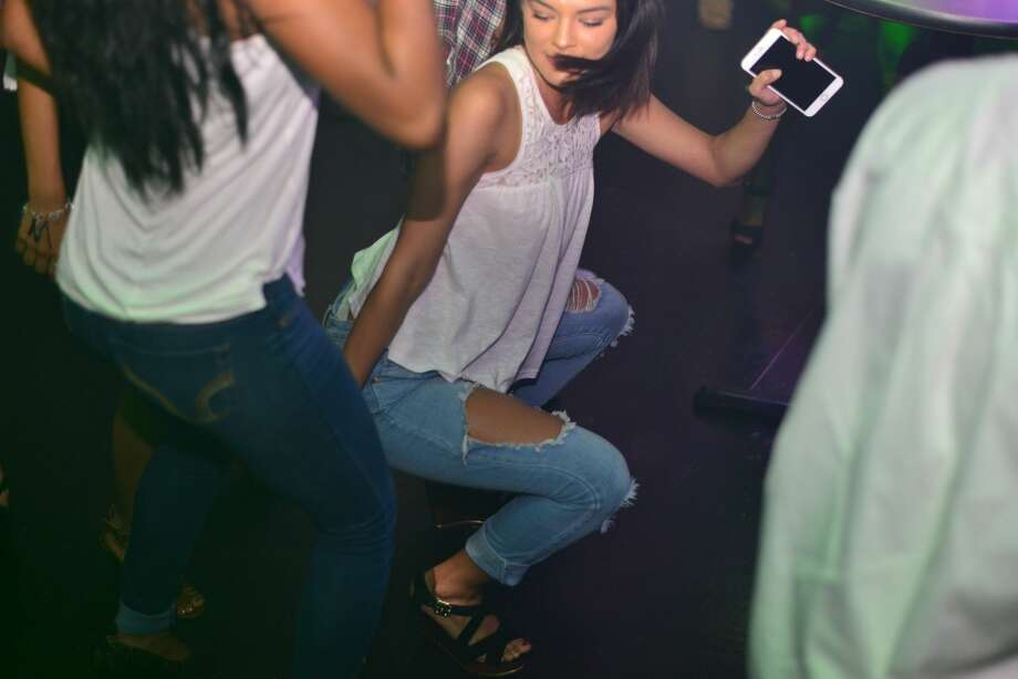 "The dress code was upscale and white for the ""All White Summer Jam"" that San Antonio's Live Ultra Lounge threw on college night, June 9, 2016. Photo: Kody Melton"