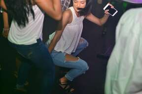 """The dress code was upscale and white for the """"All White Summer Jam"""" that San Antonio's Live Ultra Lounge threw on college night, June 9, 2016."""