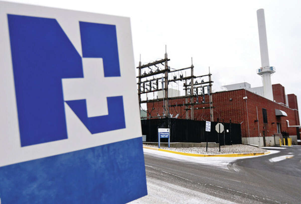 Hour photo / Erik Trautmann Norwalk Hospital is planning to replace the turbine at its co-generation plant. The hospital says the plan would boost electrical generation capacity by 25 percent and reduce fule consumption by 29 percent.