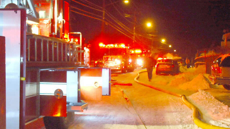 Contributed photoNorwalk Fire Department responds to 204 South Main St. Friday night.