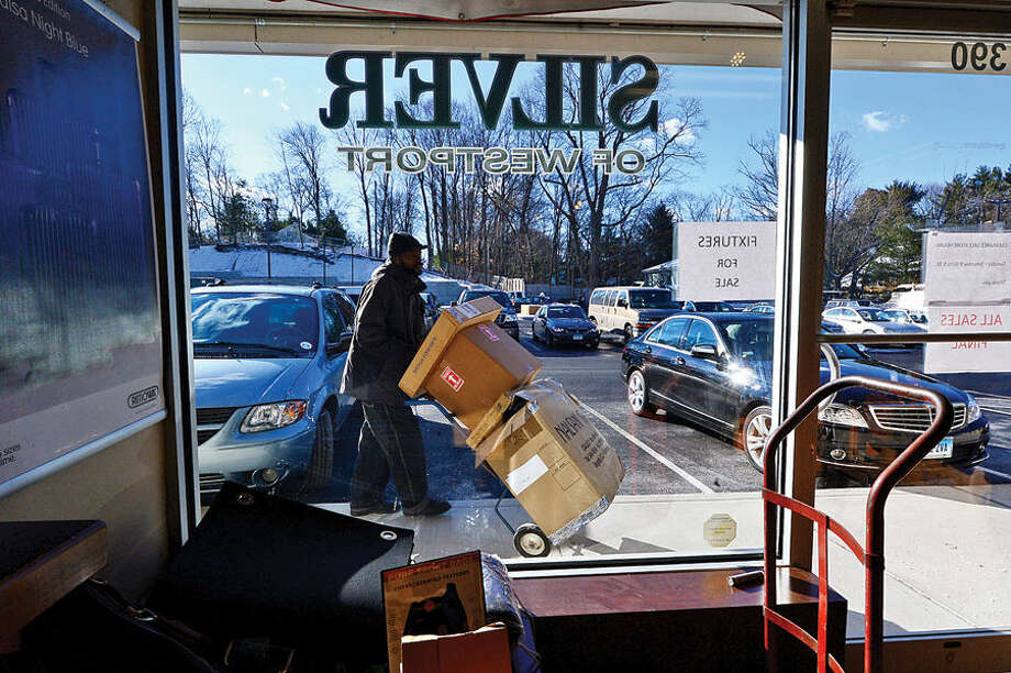 Hour photo / Erik Trautmann Silver of Westport is closing after 110 years of business.