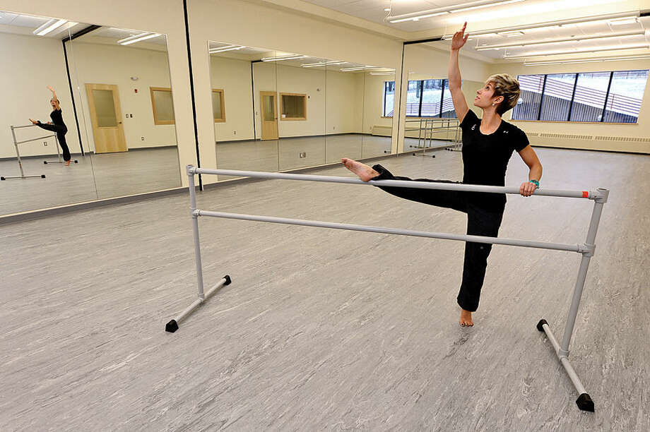 Acting director of the Chelsea Piers Dance Academy, Suzanne Palazzo, in the new studio, which opens this weekend.