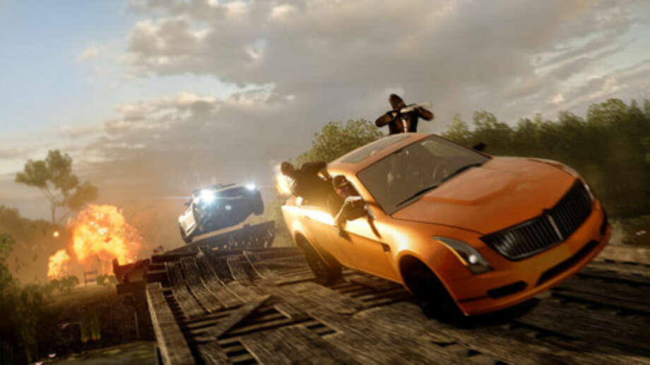 "This photo provided by Electronic Arts shows a scene from the video game, ""Battlefield Hardline."" (AP Photo/Electronic Arts)"