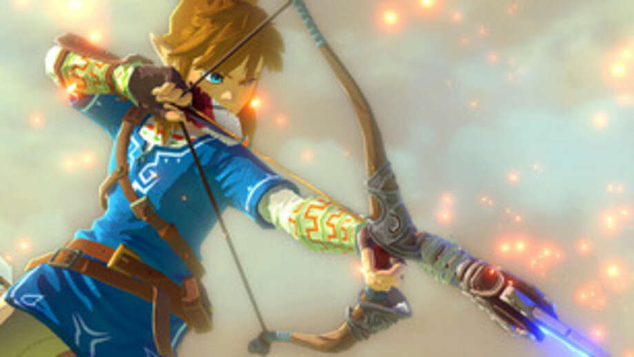 "This photo provided by Nintendo shows a scene from the video game, ""Legend of Zelda."" (AP Photo/Nintendo)"
