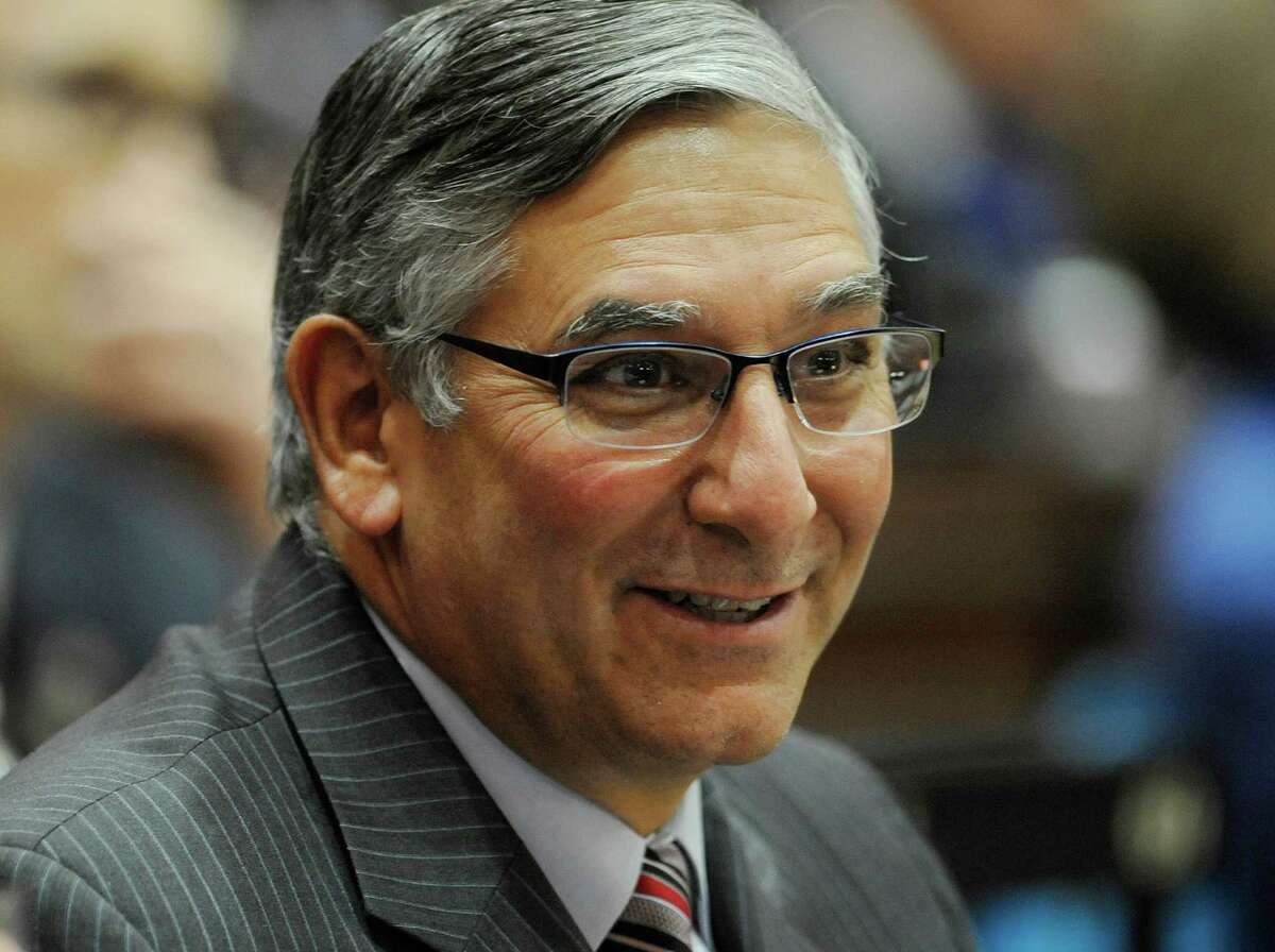 State Senate Minority Leader Len Fasano, R-North Haven, on Friday renewed an earlier request that Insurance Commissioner Katherine Wade recuse herself from the proposed Anthem merger with Cigna.