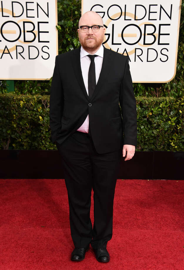 Johann Johannsson arrives at the 72nd annual Golden Globe Awards at the Beverly Hilton Hotel on Sunday, Jan. 11, 2015, in Beverly Hills, Calif. (Photo by Jordan Strauss/Invision/AP)