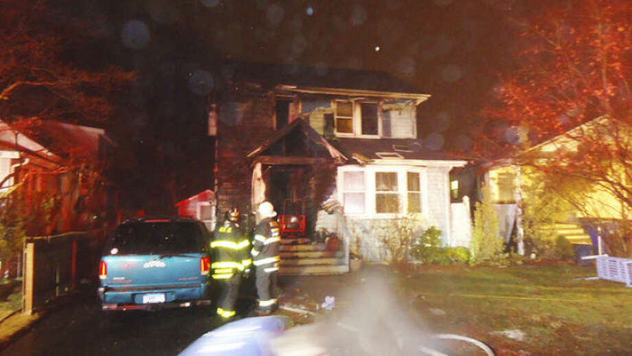 Submitted photoNorwalk Fire Department respond to a fire on Tuman Street Friday night.