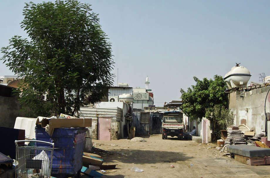 This Feb. 8, 2010 image released by the Jeddah Development and Urban RegenerationCompany shows an unplanned settlement, or slum neighborhood, of Al-Salamah in Jiddah, Saudi Arabia. (AP Photo/Usamah Shehata , Jeddah Development and Urban RegenerationCompany) / Jeddah Development and Urban RegenerationCompany
