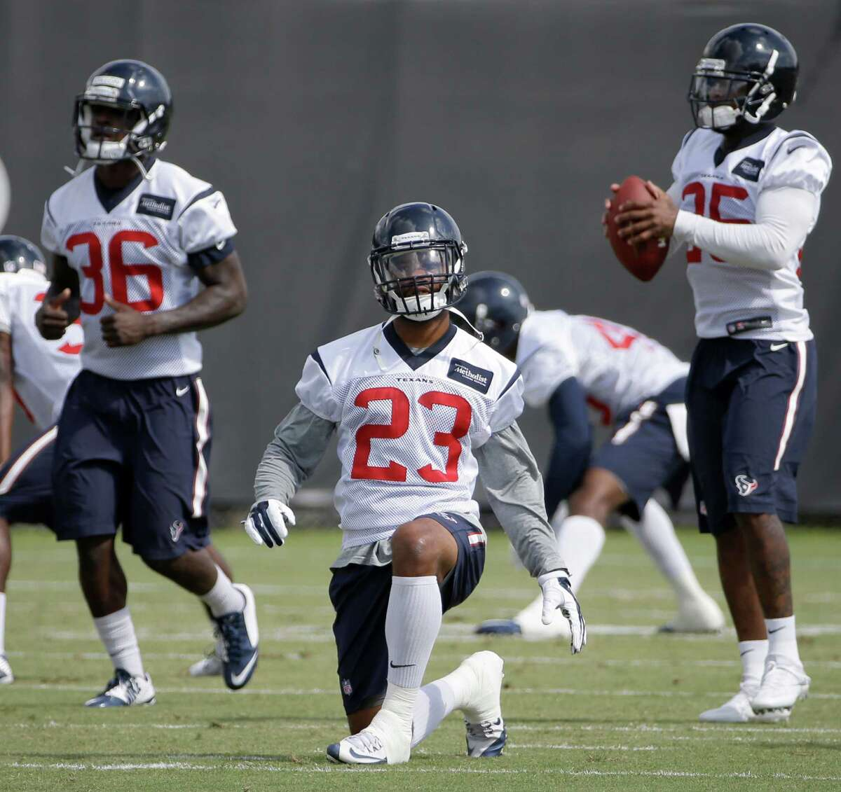 Kurtis Drummond, safety He was impressive enough last season to make the practice squad before being moved to the active roster in October and playing mostly special teams. He saw game action in the last two games. At 6-1, 200, he's got good enough size. He's a hard hitter. He must be careful not to miss tackles and make sure he's got the defense down. Drummond moves well. He and another former undrafted free agent, Corey Moore, have been making plays at safety during the offseason program and training camp. Like Moore, Drummond is trying to earn a backup job.