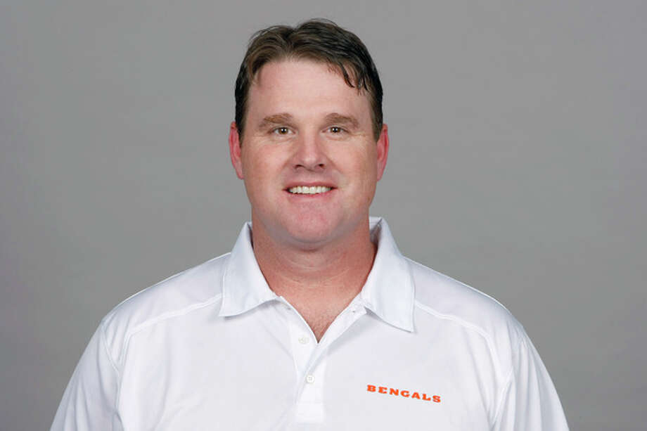 FILE - This is a 2013 file photo showing Jay Gruden, of the Cincinnati Bengals NFL football team. Jay Gruden has agreed to become the head coach of the Washington Redskins. The Redskins confirmed Thursday, Jan. 9, 2014, that Gruden has accepted the job and will be introduced at an afternoon news conference. (AP Photo/File) / NFLPV AP