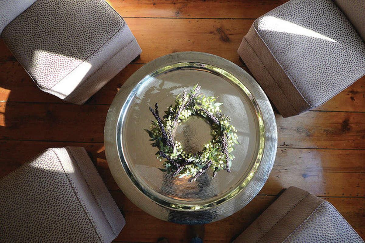 Hour Photo/Alex von Kleydorff . One of the sitting rooms at Ura The Apa