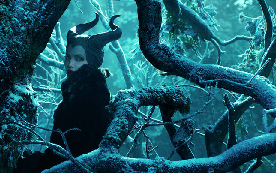 "This image released by Disney shows Angelina Jolie in a scene from ""Maleficent."" (AP Photo/Disney) / Disney"