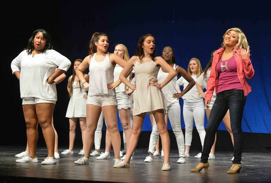 Hour Photo/Alex von Kleydorff Legally Blonde at Brien McMahon High School