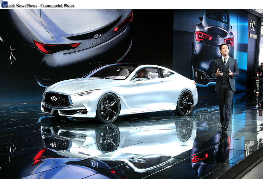 Detroit - January 13, 2015 - Infiniti Executive Director of Design, Alfonso Albaisa, unveiled the Infiniti Q60 Concept at the North American International Auto Show today. Building on the Q80 Inspiration shown in Paris, Infiniti Q60 Concept illustrates the performance and artistry of future Infiniti design. (Joe Wilssens / Infiniti photo) For more information contact Kyle Bazemore 615-739-8404.