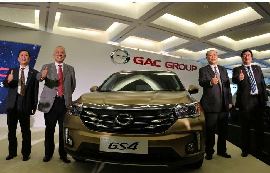 GAC Motor GS4 debuts at North American International Auto Show (PRNewsFoto/GAC Motor)