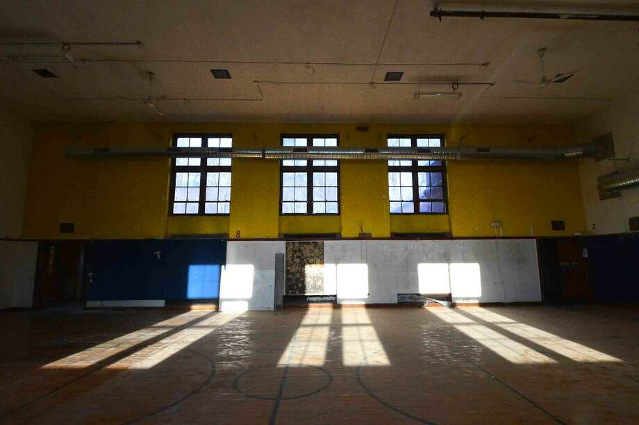 Hour Photo/Alex von Kleydorff The former Roosevelt School Addition on Allen Rd. will be converted to the Norwalk Early Childhood Center