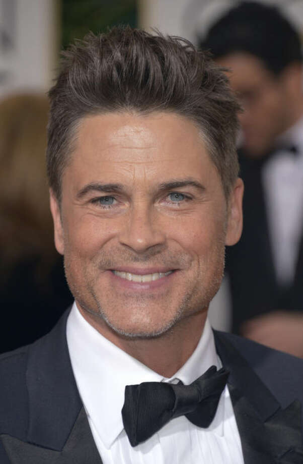 Rob Lowe arrives at the 71st annual Golden Globe Awards at the Beverly Hilton Hotel on Sunday, Jan. 12, 2014, in Beverly Hills, Calif. (Photo by John Shearer/Invision/AP)