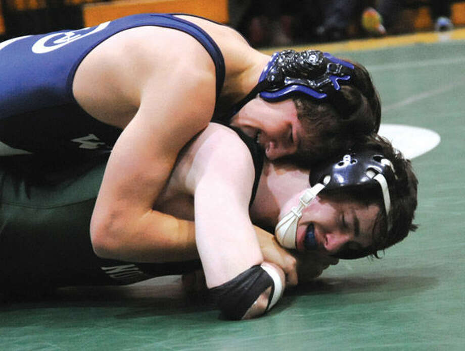 Wilton's Jacob Rob vs. Norwalk's Justin Graff.