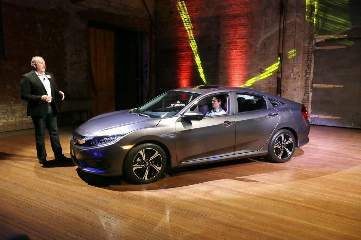 """Best New Compact Sedan """"Built on Honda's all-new global platform, the new Civic returns to its roots with an entertaining driving experience, thanks in part to responsive steering and well-controlled body motions."""" Read more at Cars.com."""