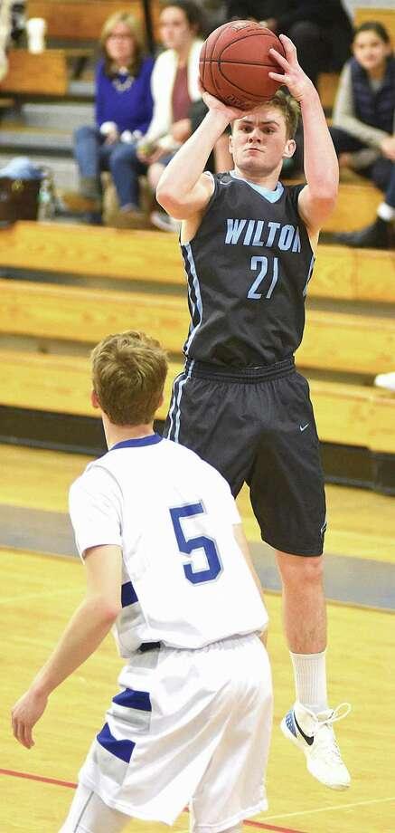 Wilton's Jack Williams.
