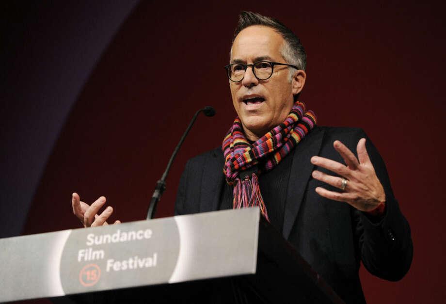 AP photoJohn Cooper, director of programming for the Sundance Film Festival, addresses the audience during the 2015 Sundance Film Festival Awards Ceremony in Park City, Utah.