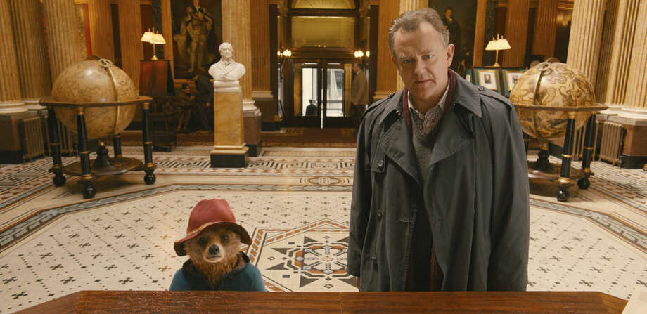 "This image released by The Weinstein Company shows Hugh Bonneville in a scene from ""Paddington."" (AP Photo/The Weinstein Company)"