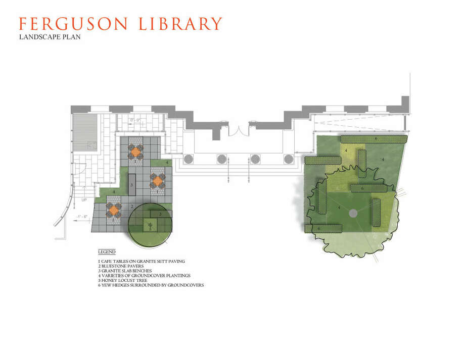 Proposed renovations to The Ferguson Library.