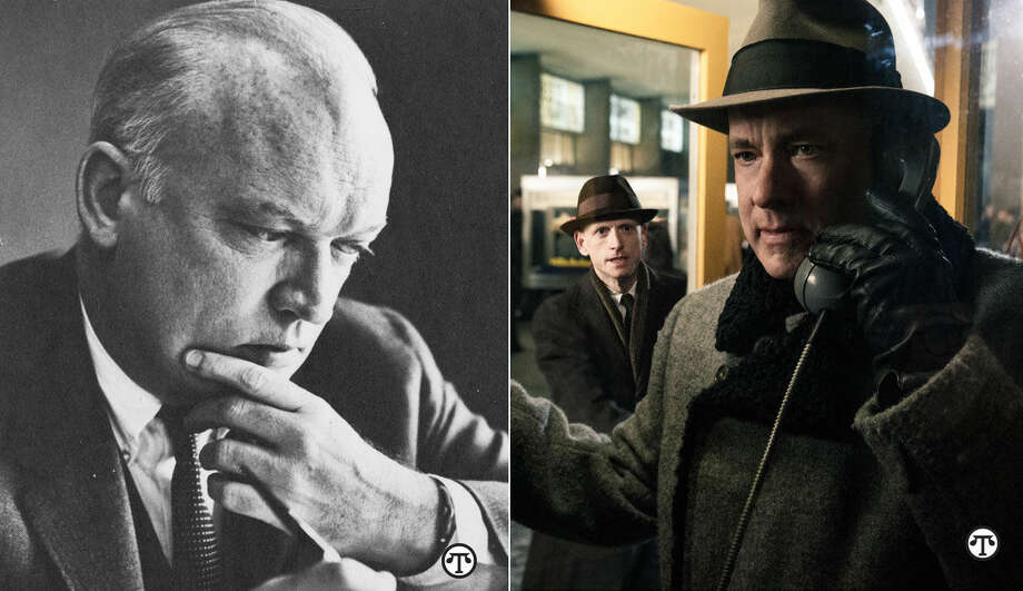 "Attorney James B. Donovan, a little-known American hero... ...was played by Tom Hanks in the movie ""Bridge of Spies."" (NAPS)"
