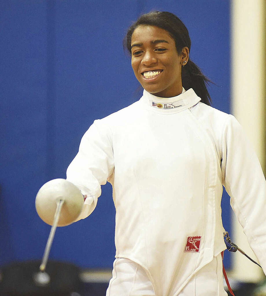 en garde gfa athletes find focus through fencing the hour