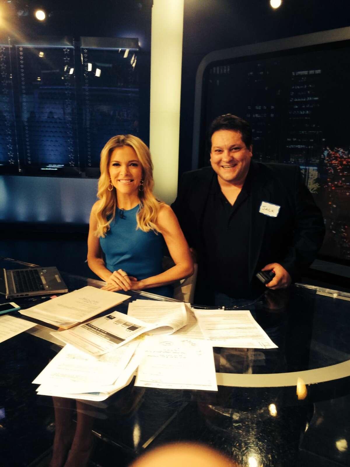 Norwalk School Board member Jack Chiramonte onFox News with Megyn Kelly.