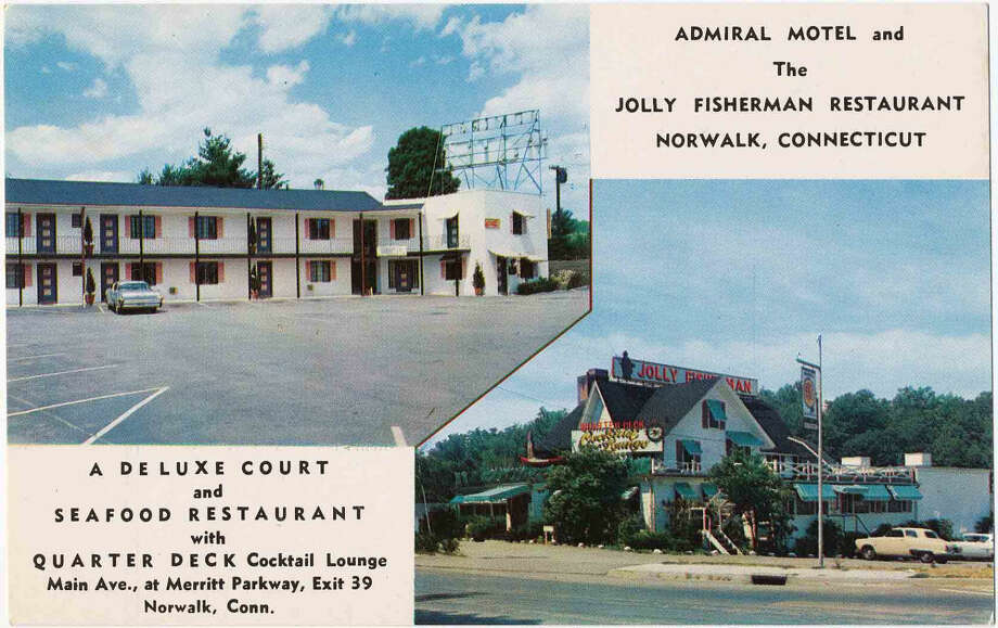 Admiral Motel and The Jolly Fisherman Restaurant, Norwalk