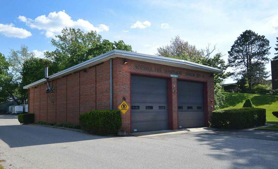 Hour Photo/Alex von Kleydorff Fire Station #4 on Westport Ave. Norwalk