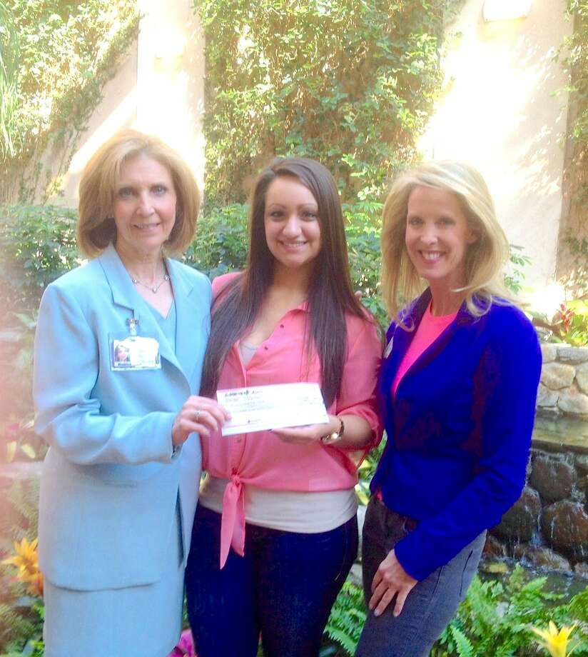 Christine Occhino (center), founder of The Pop Music Academy at 980 Hope Street in Stamford, with Liz Manfredo (left), Director of Cancer Services at Bennett Cancer Center, and Music Therapist Amy Zabin (right). A portion of the proceeds from The Pop Music Academy's Showcase on Saturday, January 17th, will benefit the Stamford Hospital's Bennett Cancer Center department. For details visit ThePopMusicAcademy.com.