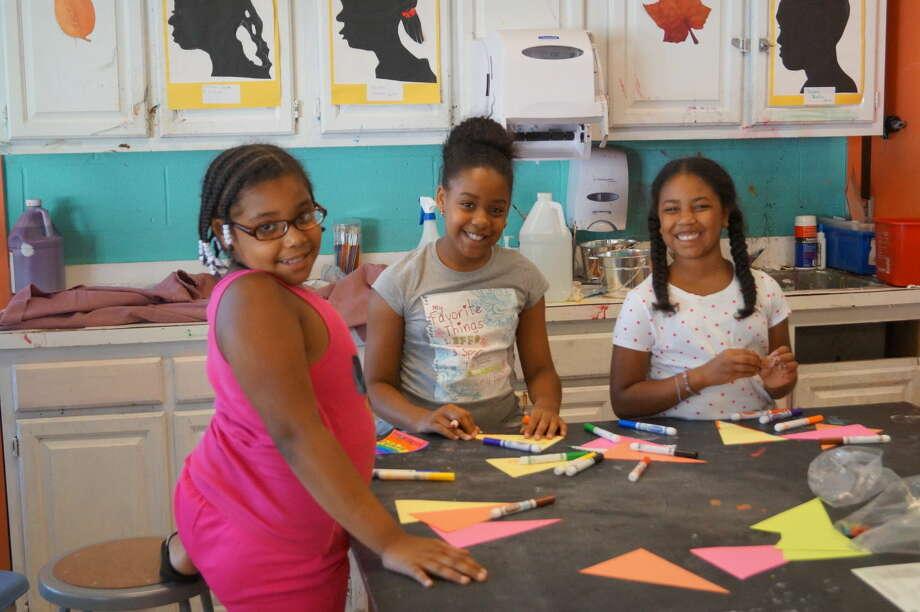 Boys & Girls Club members enjoy daily Fine Arts opportunities.