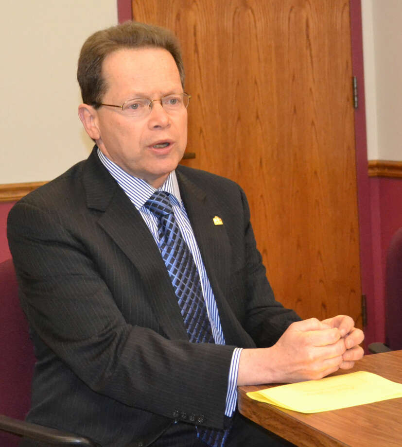 Contributed photoNorwalk Community College President, David Levinson
