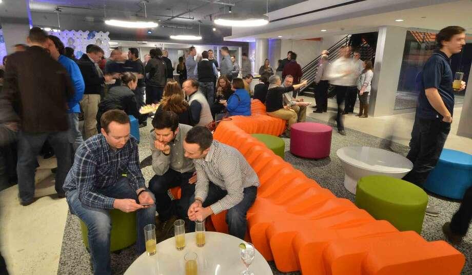 Hour Photo/Alex von Kleydorff DATTO celebrates new space at Merritt 7 in Norwalk