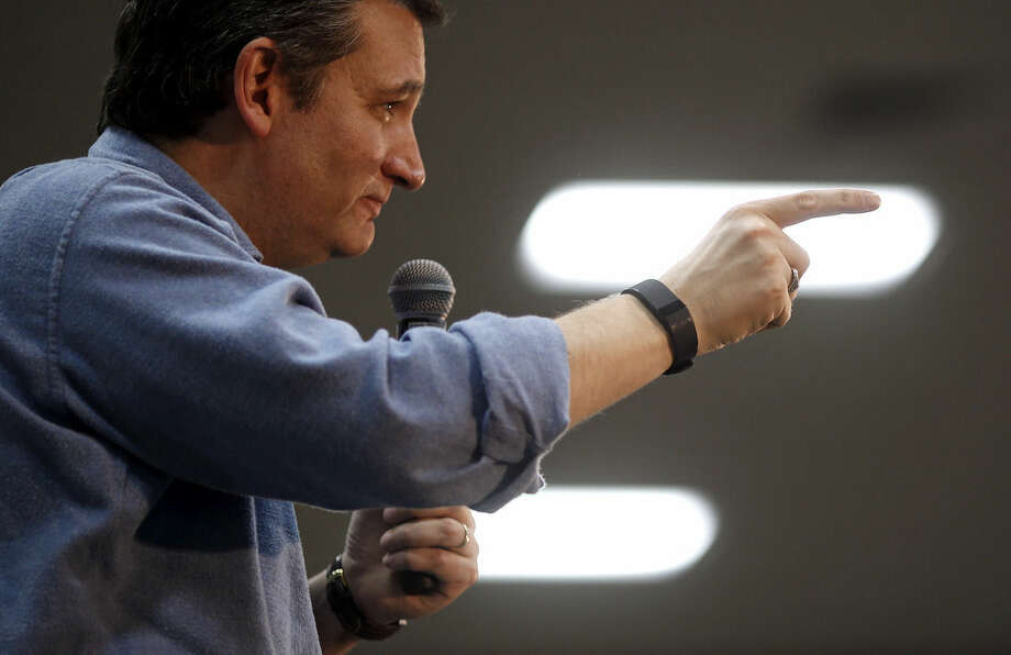 Republican presidential candidate, Sen. Ted Cruz, R-Texas, speaks during a campaign event at Western Iowa Tech Community College in Sioux City, Iowa, Saturday, Jan. 30, 2016. (AP Photo/Patrick Semansky)