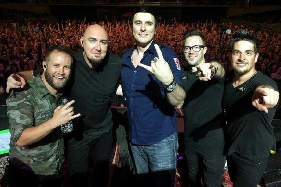 The band Breaking Benjamin played The Dome at Oakdale on Saturday night. (Photo courtesy of Breaking Benjamin)