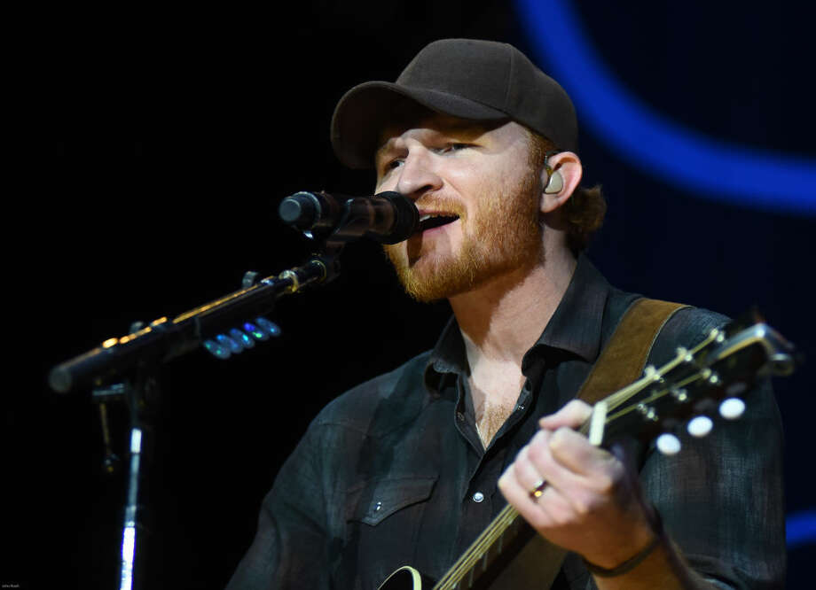 Hour photo/John Nash - Country singer Eric Pasley was one of Brad Paisley's opening acts on Sunday at the Mohegan Sun Arena.
